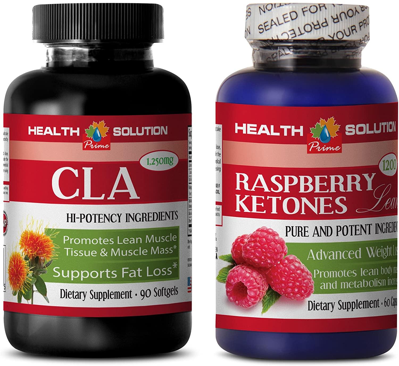 antioxidant Grape - CLA - Raspberry Ketones - Combo - cla Diet - (2 Bottles Combo)