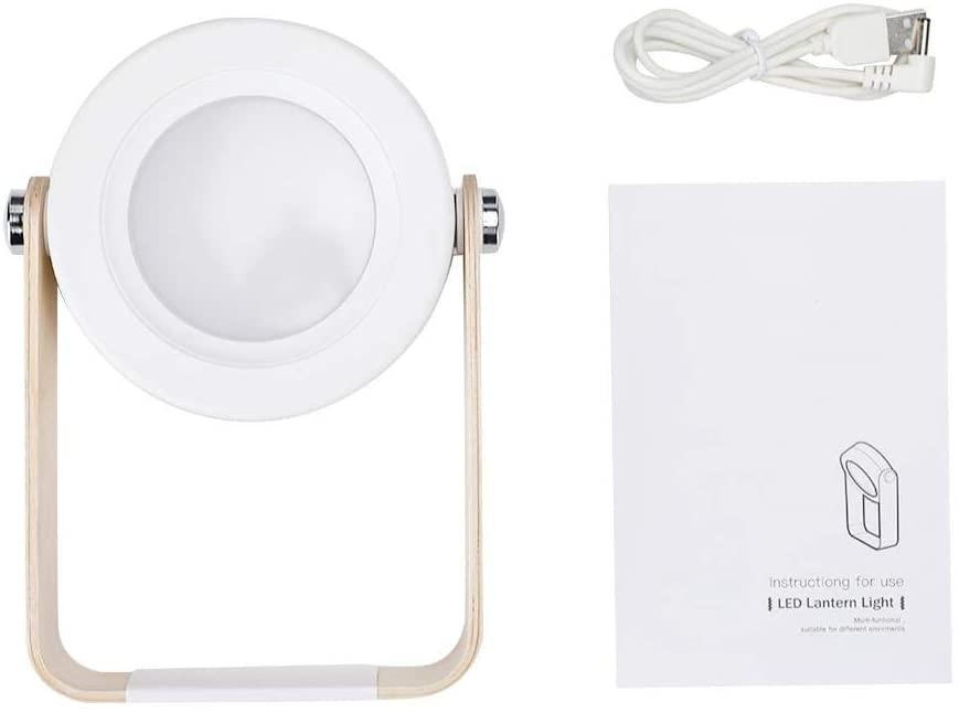 Night Light Desktop Lamp, Portable Multi-Functional Light 360 Degree Adjustable for Outdoor Home Hiking Camping