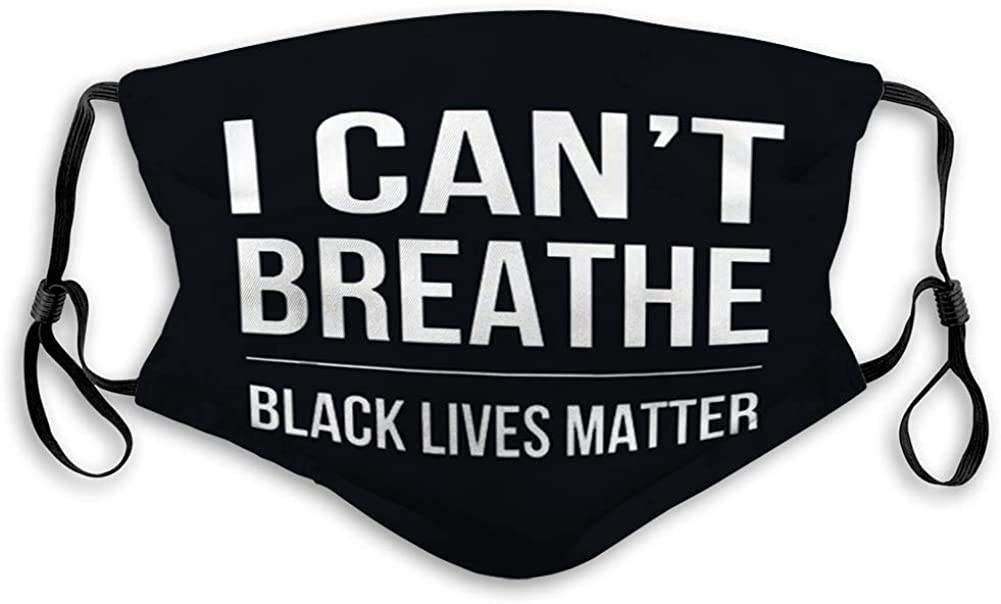 Reusable Outdoor Mouth Cover Black Lives Matter Outer Covers