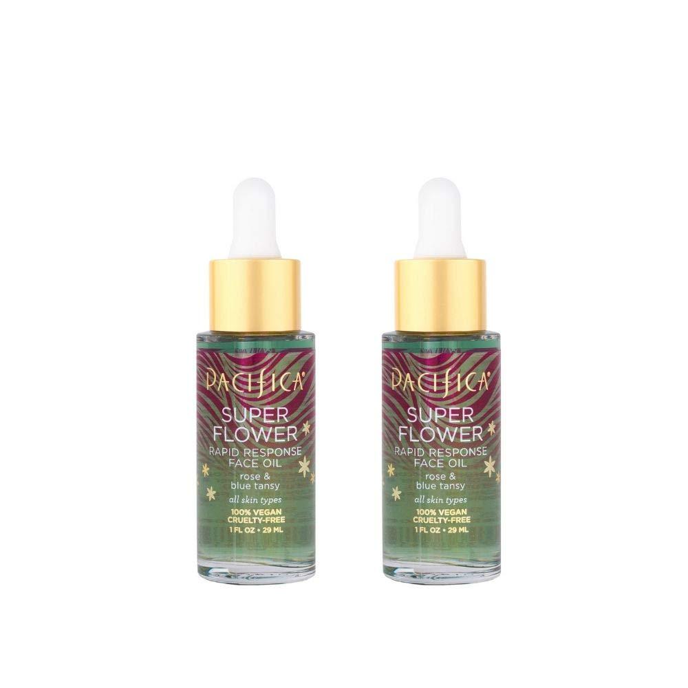 Pacifica Beauty Super flower rapid response face oil, 2Count