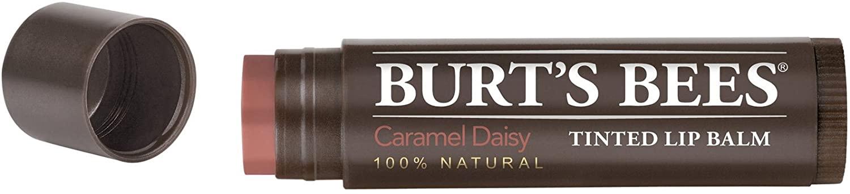 Burts Lip Balm Tintd Carm Size .15z Burts Lip Balm Tinted Carmel Daisy .15z