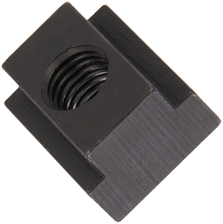 1018 Steel T-Slot Nut, Black Oxide Finish, Grade 4, 5/8