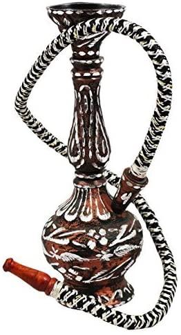 Indian Handicrafts Export 12 Inches Metal Hukka