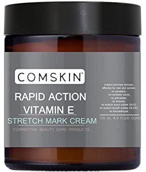 Rapid Action Super Stretch Mark Cream (Vitamin E, Collagen, Emu) Pregnancy, Breasts, Scars
