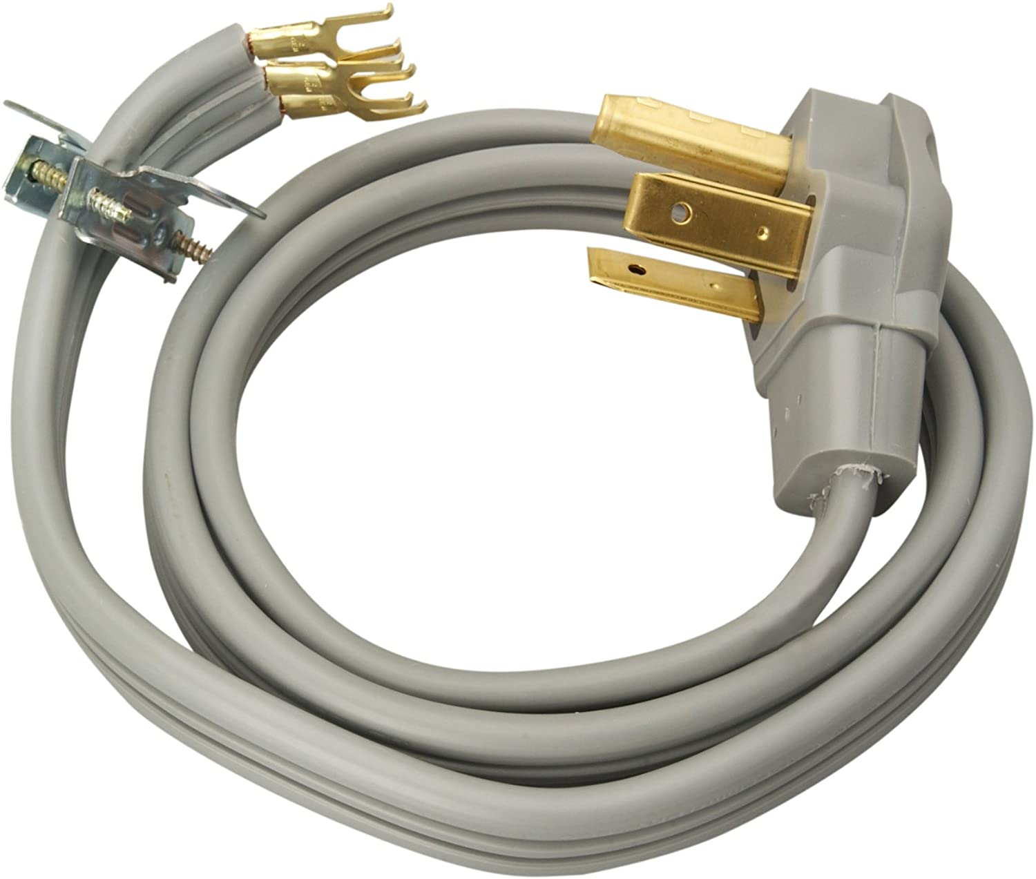 Coleman Cable 09126 30-Amp 3-Wire Dryer Power Cord, 6-Foot