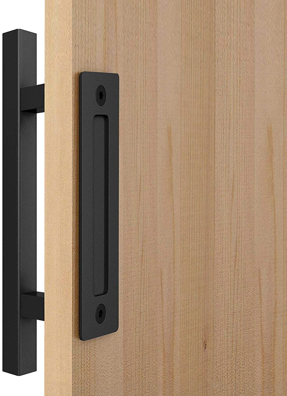 Upgrade Barn Door Handle,Square 12
