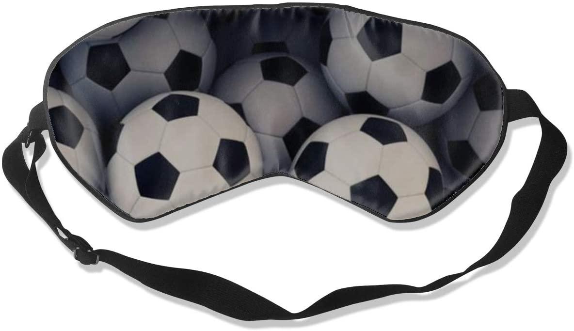 Sleep Eye Mask For Men Women,Football Soft Comfort Eye Shade Cover For Sleeping