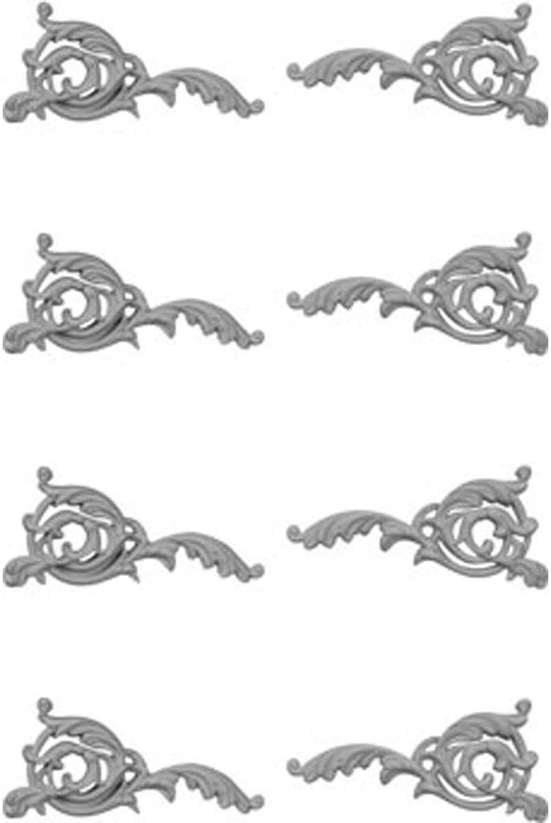Ekena Millwork ONL04X07X01LF-LR-CASE-4 Onlay, Factory Primed