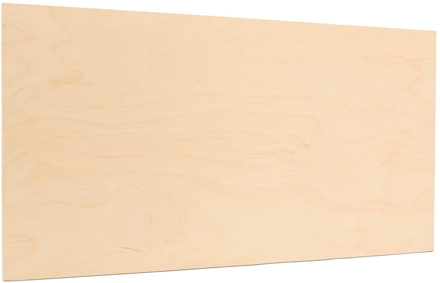 5mm 1/4 x 12 x 20 Inch Premium Baltic Birch Plywood B/BB Grade, Pack of 12 Flat Sheets by Woodpeckers