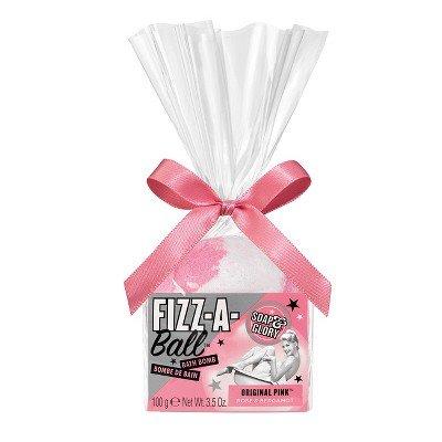 Soap & Glory Fizz-A-Ball Bath Bomb Original Pink - 3.5oz