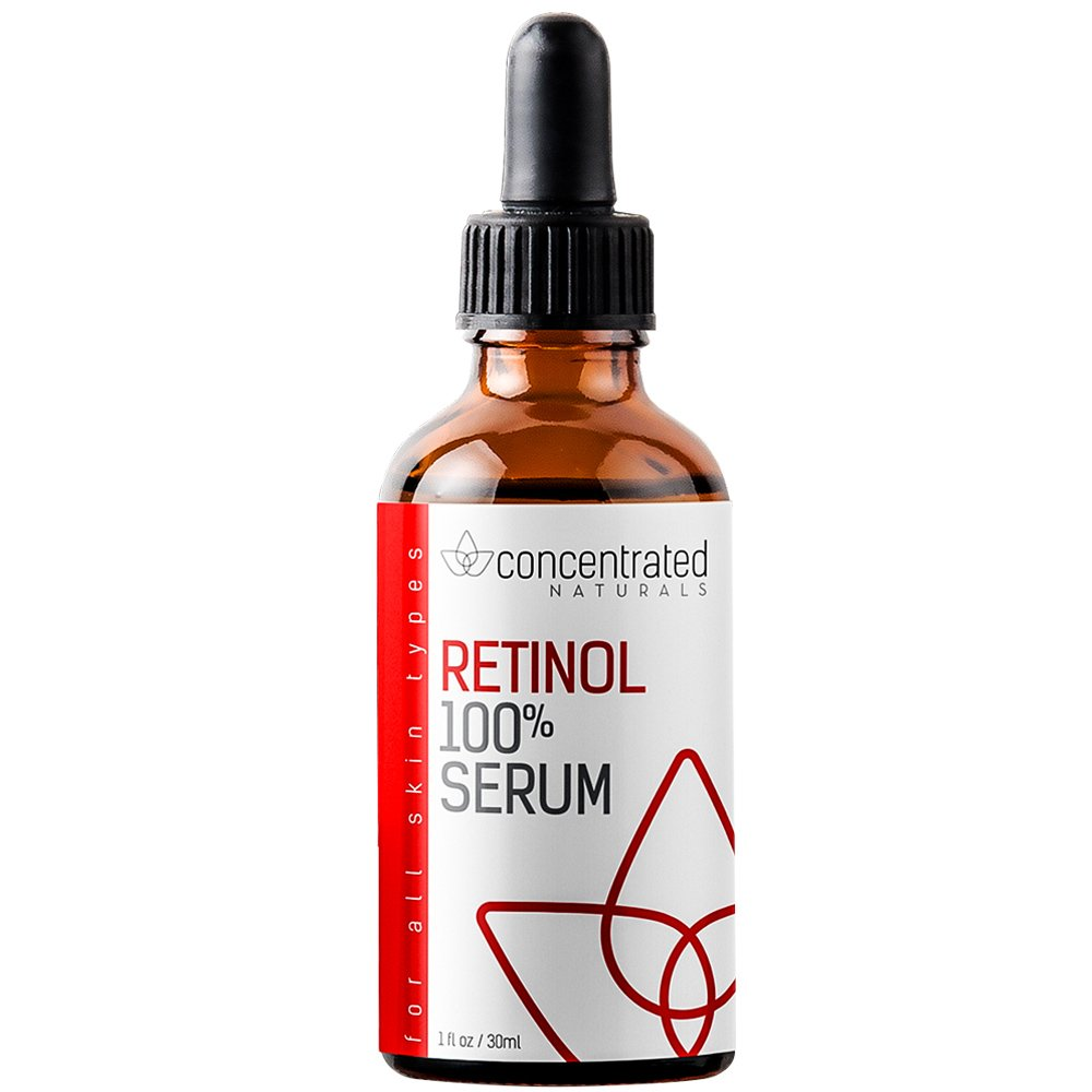 Retinol Serum for Face | w/Vitamin C & Hyaluronic Acid | Professional Grade | May Help Smooth Appearance of Wrinkles and Fine Lines | Works to Hydrate for More Youthful-Looking Skin 1 fl oz