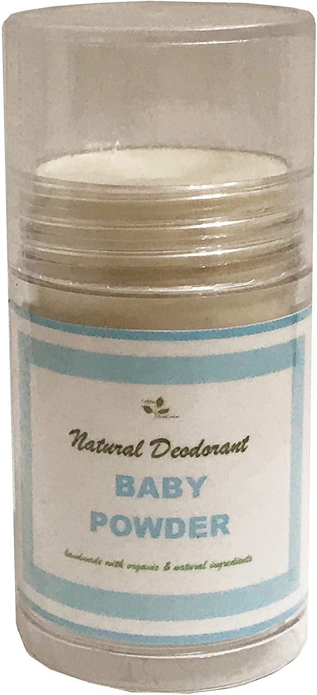 Natural Deodorant for Whole Body in Push Tube No Aluminum, No Baking Soda1.3 oz (Gardenia, 1.3 oz)