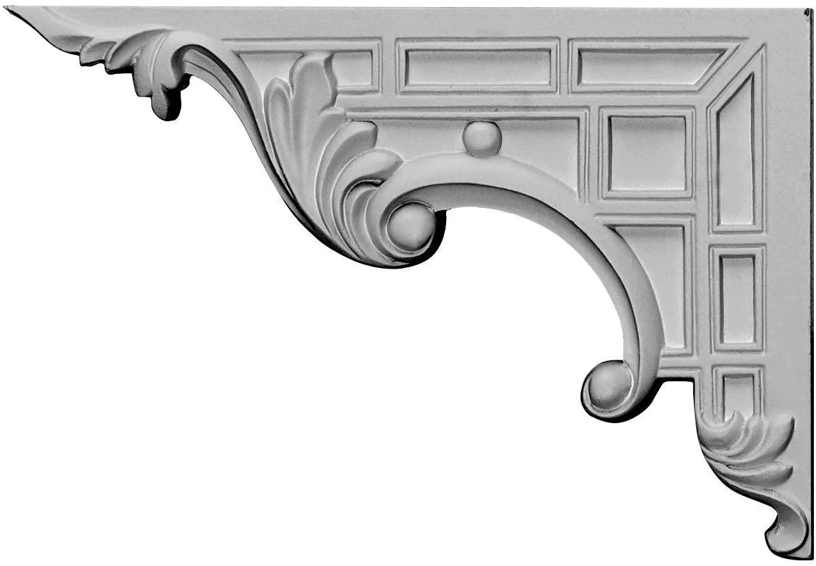 Ekena Millwork SB09X07NS-L-CASE-6 Stair Bracket, Factory Primed