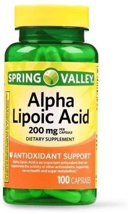 Evaxo Alpha Lipoic Acid Capsules, 200 mg, 3 pk. / 100 Ct