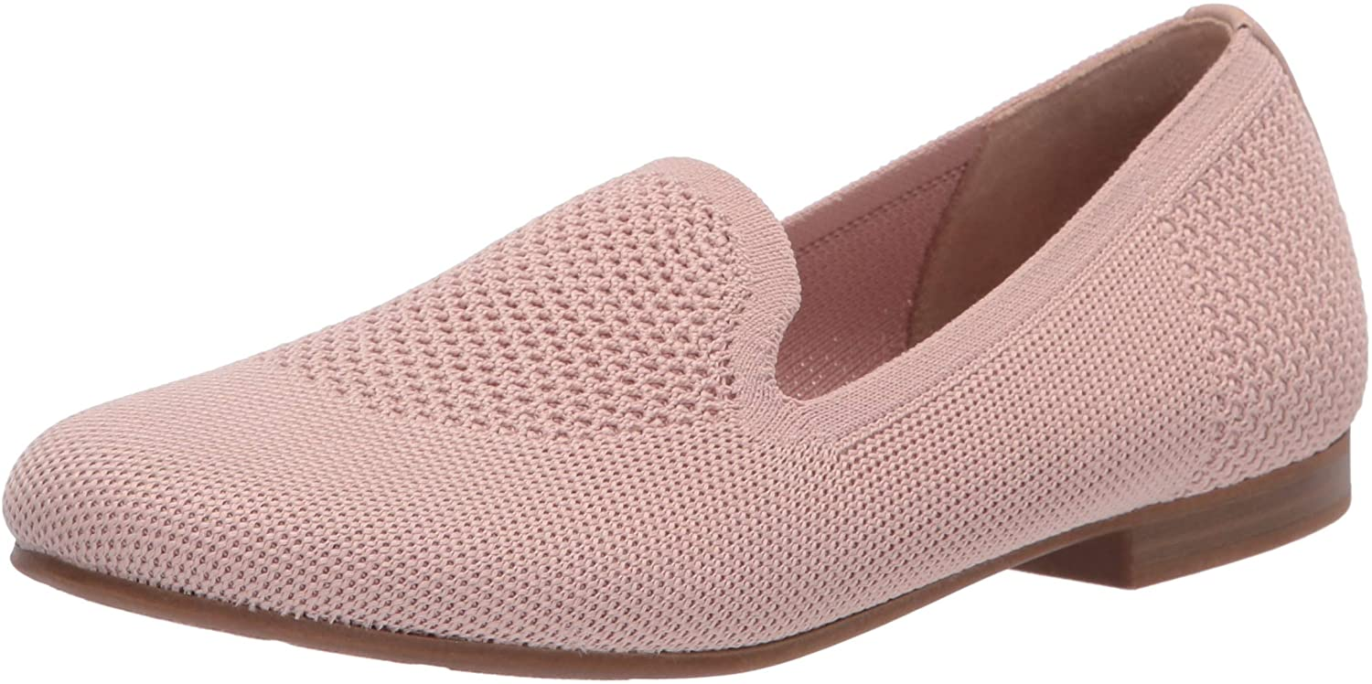 Naturalizer Women's Alexis Slip-Ons Loafer, mauve knit, 10 M US