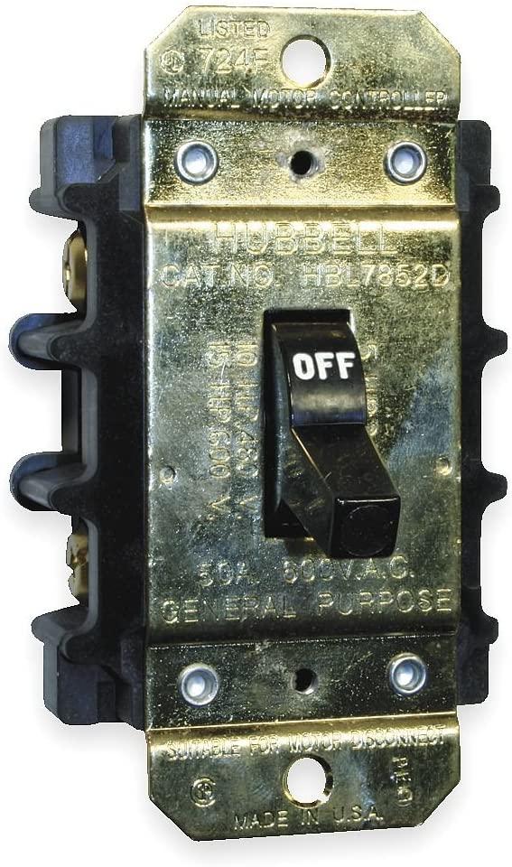 Manual Motor Switch, 50A, 600VAC, 3P