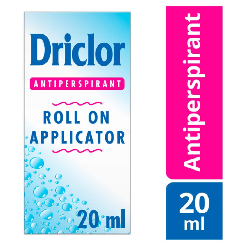 Driclor Solution Roll On Applicator 20ml