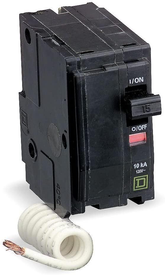 Switch Neutral Circuit Breaker 2P 15 Amp 120/240VAC