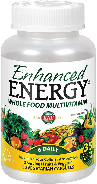 Kal 021245459286 Enhanced Energy, 90 Count
