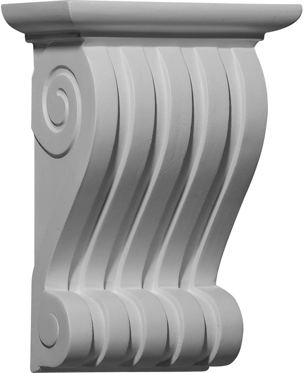 Ekena Millwork COR06X03X09LN-CASE-2 Corbel, Factory Primed and Ready for Paint