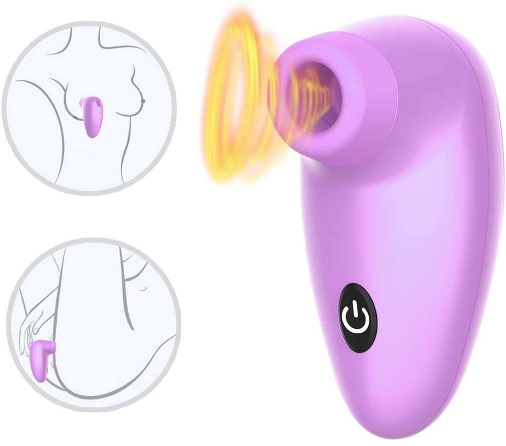 360 Rotating 10 Vibration Powerful Tongue Suck & Thrust Nipple Sucker G SPO-tter Sucking Toys for Women Couples USB Rechargeable Waterproof