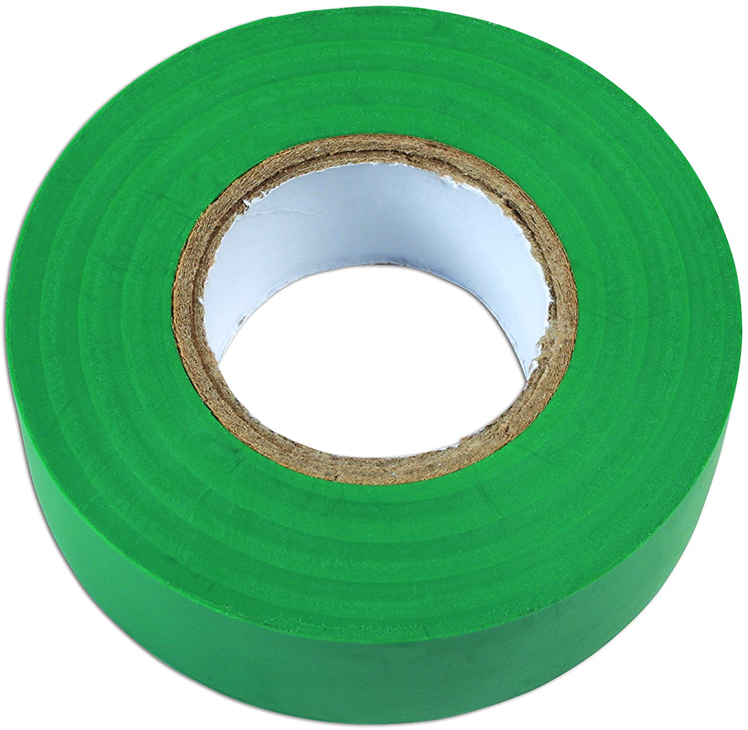 Connect Workshop Consumables Connect Consumables 36890 Green PVC Insulation Tape 19mm x 20m Pk 1