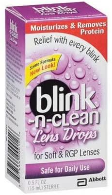 Blink-N-Clean Lens Drops 0.5 oz