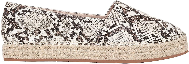 Rohb by Joyce Azria Sandria Casual Slip On Comfy Platform Round Toe Loafer Espadrille