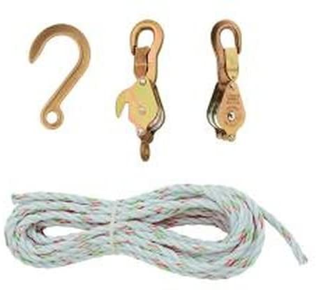 Klein Tools 1802-30 Block and Tackle with Anchor Hook Cat. No. 258