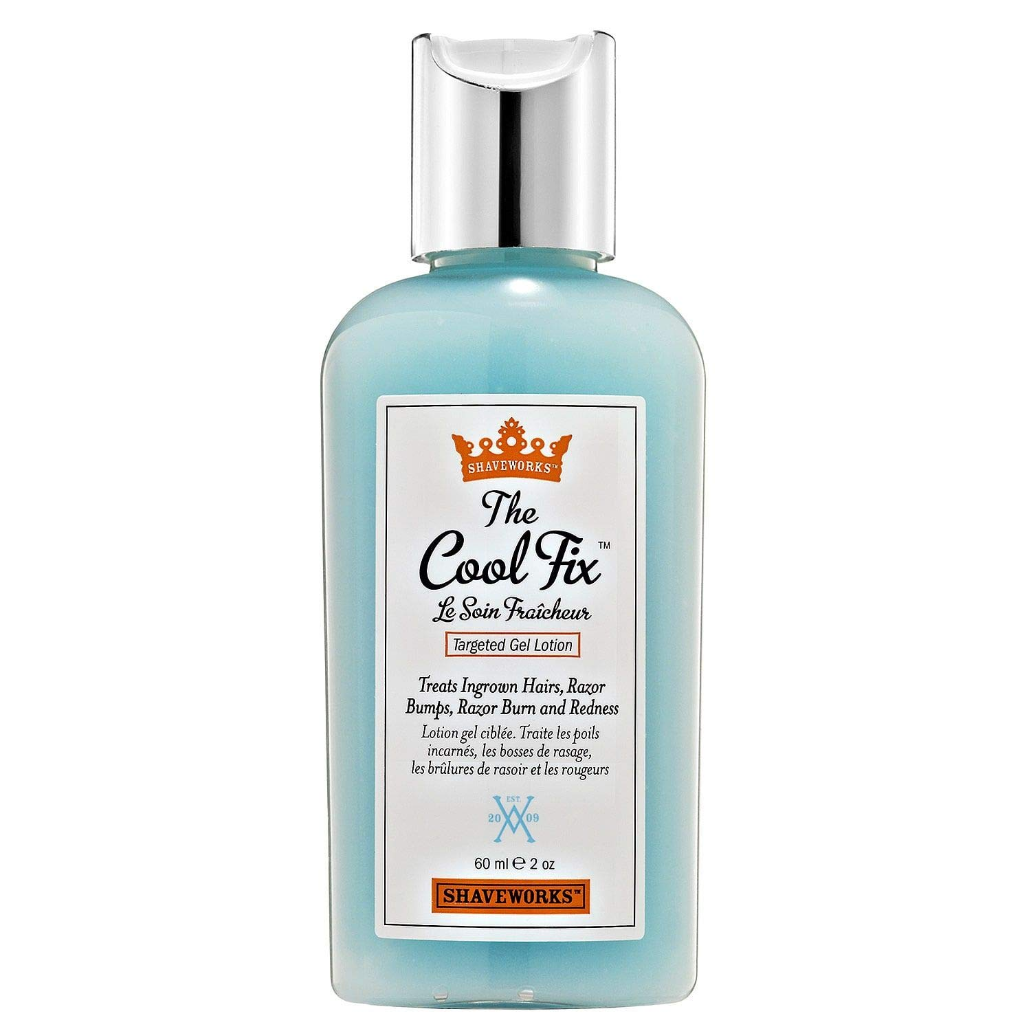 Shaveworks The Cool Fix, After Shave/Post Waxing Solution for Ingrown Hair, Razor Bumps and Razor Burns, 2 Fl Oz. Recommended by Khloé Kardashian