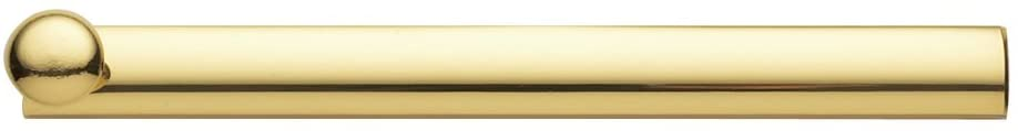 Baldwin Estate 0324.030 General Purpose Solid Brass Surface Bolt in Polished Brass, 6