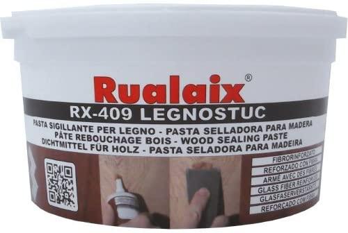 rualaix rx-409legnostuc–Putty with Fiber, Terrine 500g, Beech/M-02