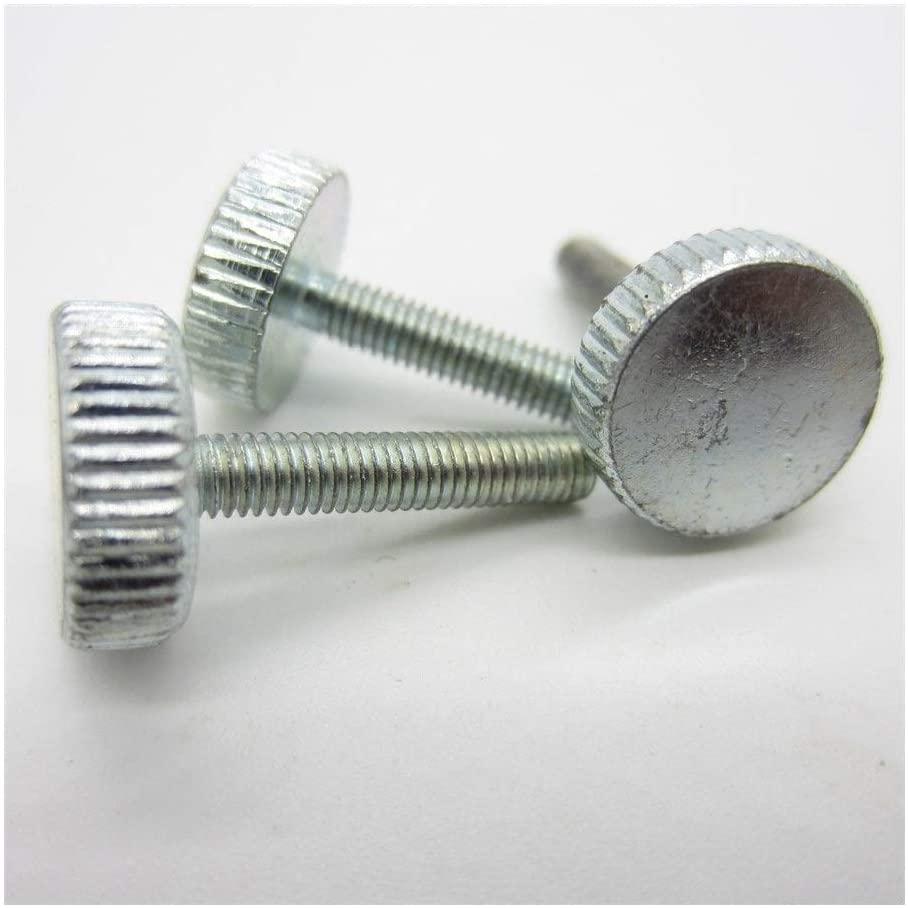 BOJI Thumb Screw Knurled Truss Knurled Head Screw To Tighten Computer Screw By Hand (Dimensioni : M6 25mm(3pcs))