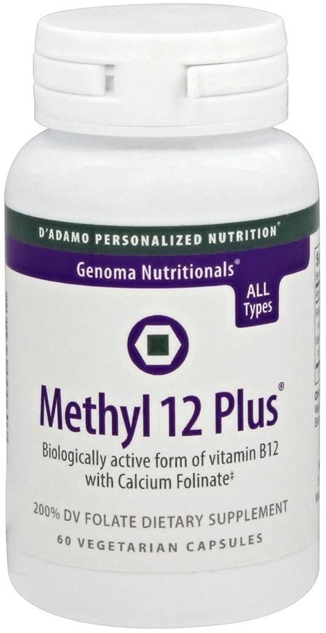 D'Adamo Personalized Nutrition Methyl 12 Plus, 60 Count