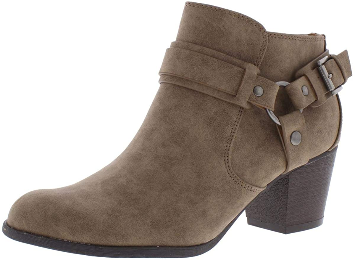 Indigo Rd. Womens Sansun Almond Toe Ankle Fashion Boots