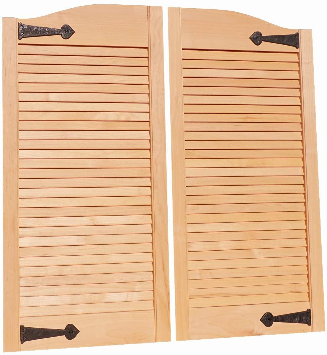Cafe Doors by Cafe Doors Emporium | Alder Wood Cafe Doors | Prefit for 30