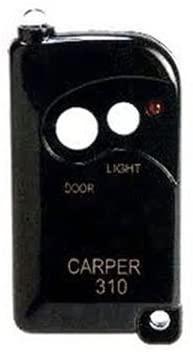 Carper 310 Key Chain Garage Door Opener Remote
