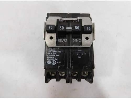 Eaton BQC215250 ‑ Type BQC 1‑Inch CTL Plug‑On Breaker