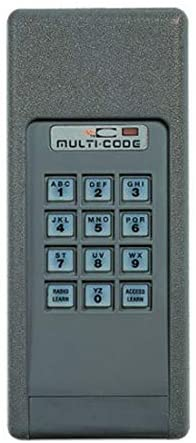MULTI-CODE 4200 Garage Door Opener Keyless Entry 300MHz by Linear