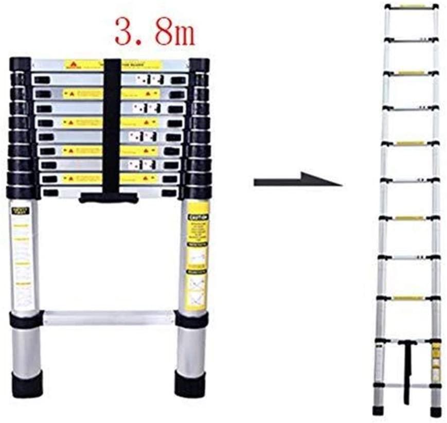 LADDERS Ladders Aluminum Telescopic, Adjustable Height Telescopic Folding, Load Capacity 150Kg Building Supplies