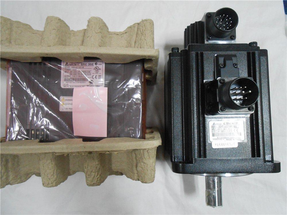 GOWE 1KW Delta AC Servo Motor ECMA-E11310SS+ASD-A2-1021-L 220V Servo Drive Kits 4.77NM 130mm with Break & 3M Cable