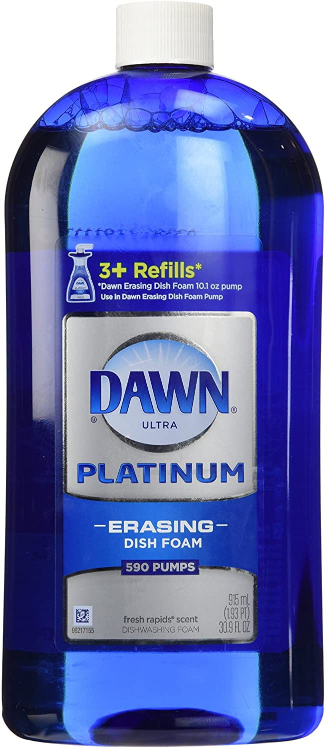 Dawn Direct Foam Dishwashing Foam Refill, Fresh Rapids, 30.9 oz-2 pack