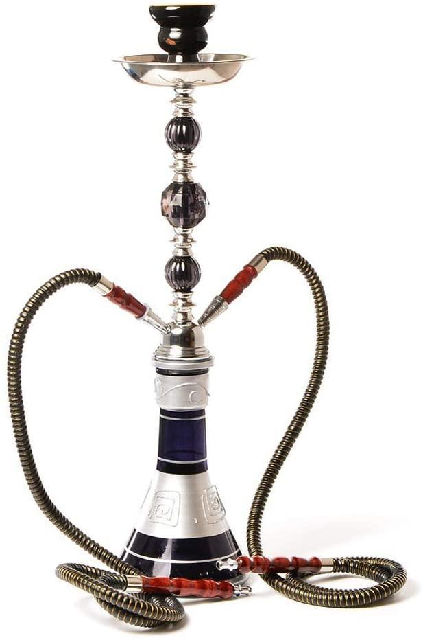 HEWEI Creative Shisha-Shisha-Set Arabian Shisha-53 cm-Shisha-Set for Families and Other Places Black