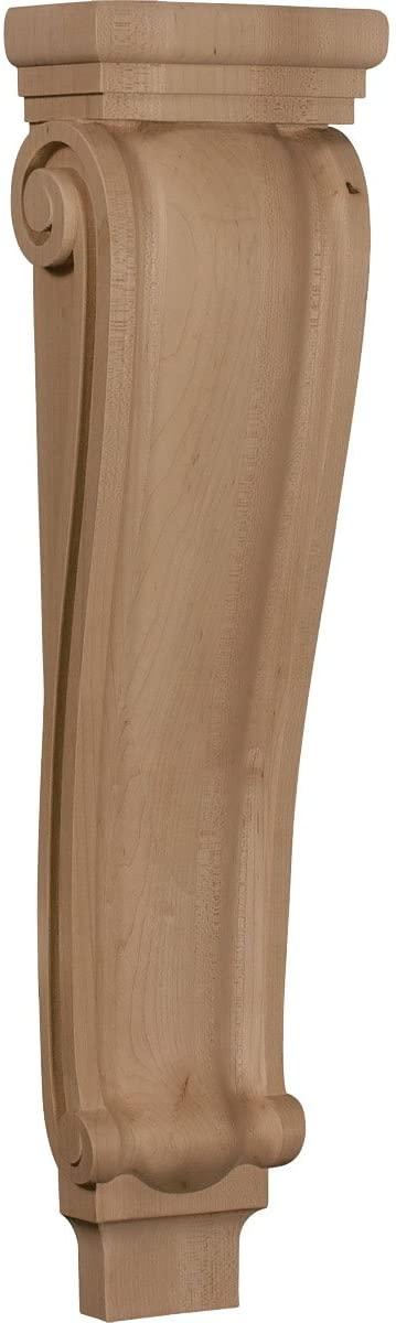 Ekena Millwork CORW06X03X22PTRO-CASE-4 Corbel, Factory Primed
