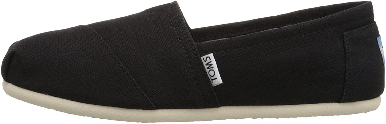 Toms Women's Classic Canvas (BLACK) Slip-on Shoe