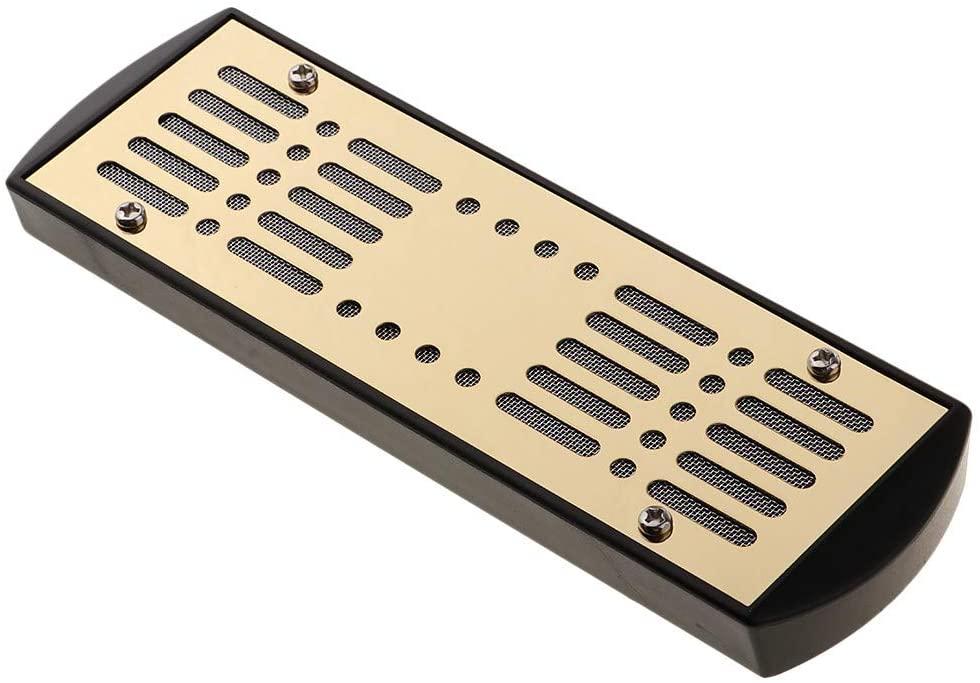 Cigar Humidifier, Emance Cigar Humidor Humidifier for Cigars Humidor Box, Metal + PVA Material, Gold Tone