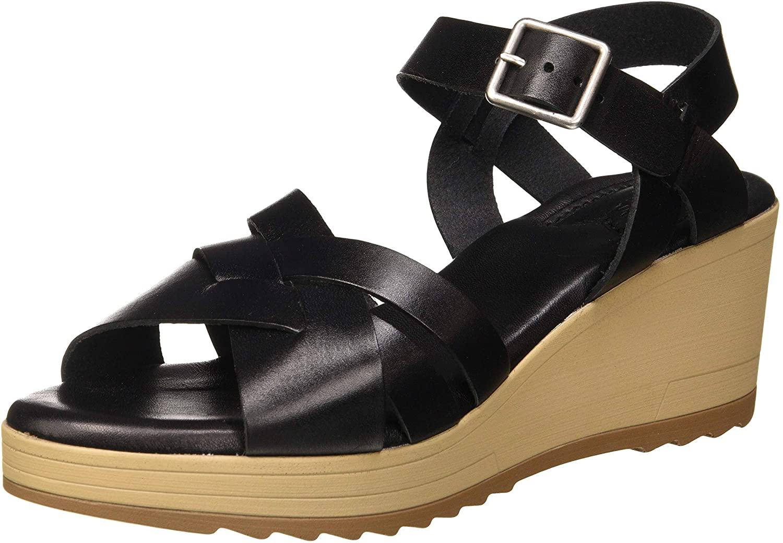 Kickers Womens Platform Sandals, Black Noir 8, 8 US