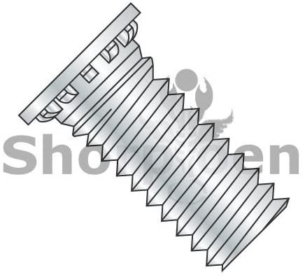 M6-1.0X26 Self Clinching Stud Full Thread Hardened Steel Heat Treat Zinc & Bake Metric - Box Quantity 1000 by Shorpioen BC-M626SCN