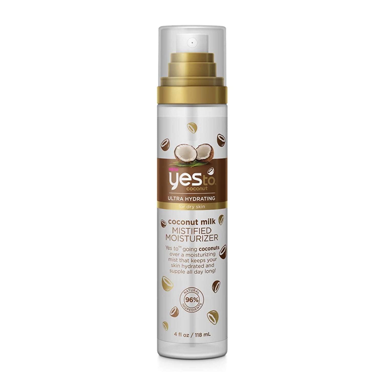 Yes To Coconut Ultra Hydrating Coconut Milk Mistified Moisturizer, 4 Fluid Ounce