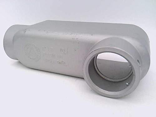 APPLETON LB200TA LB Type, 2IN, Aluminum, Conduit Body, UNILET-Form 85, LB200T-A